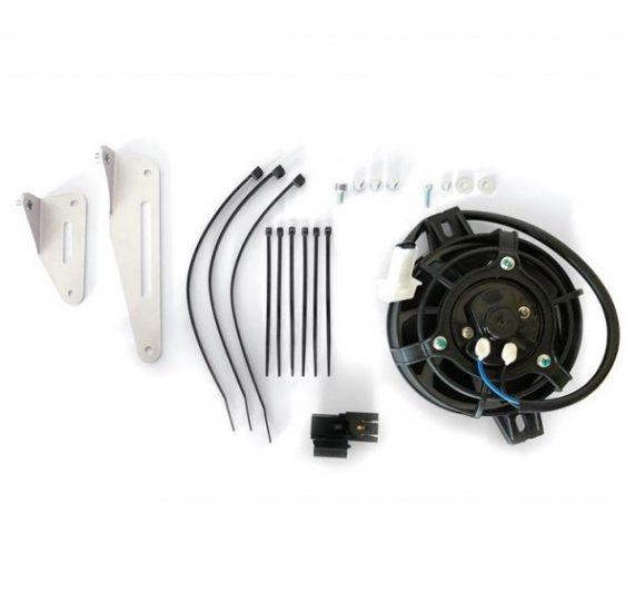 Ventilator set za hladenje motora